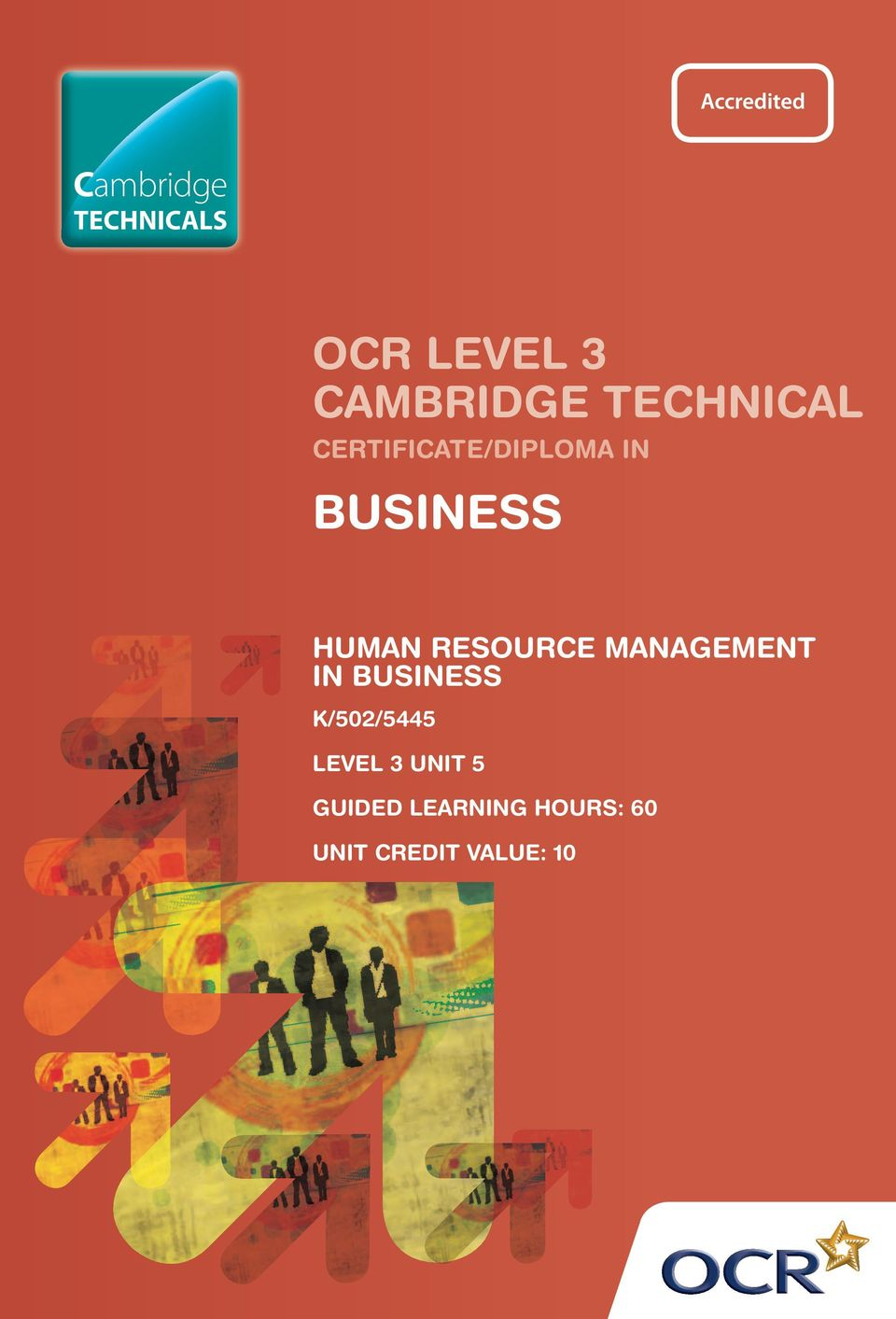 RESOURCE MANAGEMENT IN BUSINESS K/502/5445 LEVEL