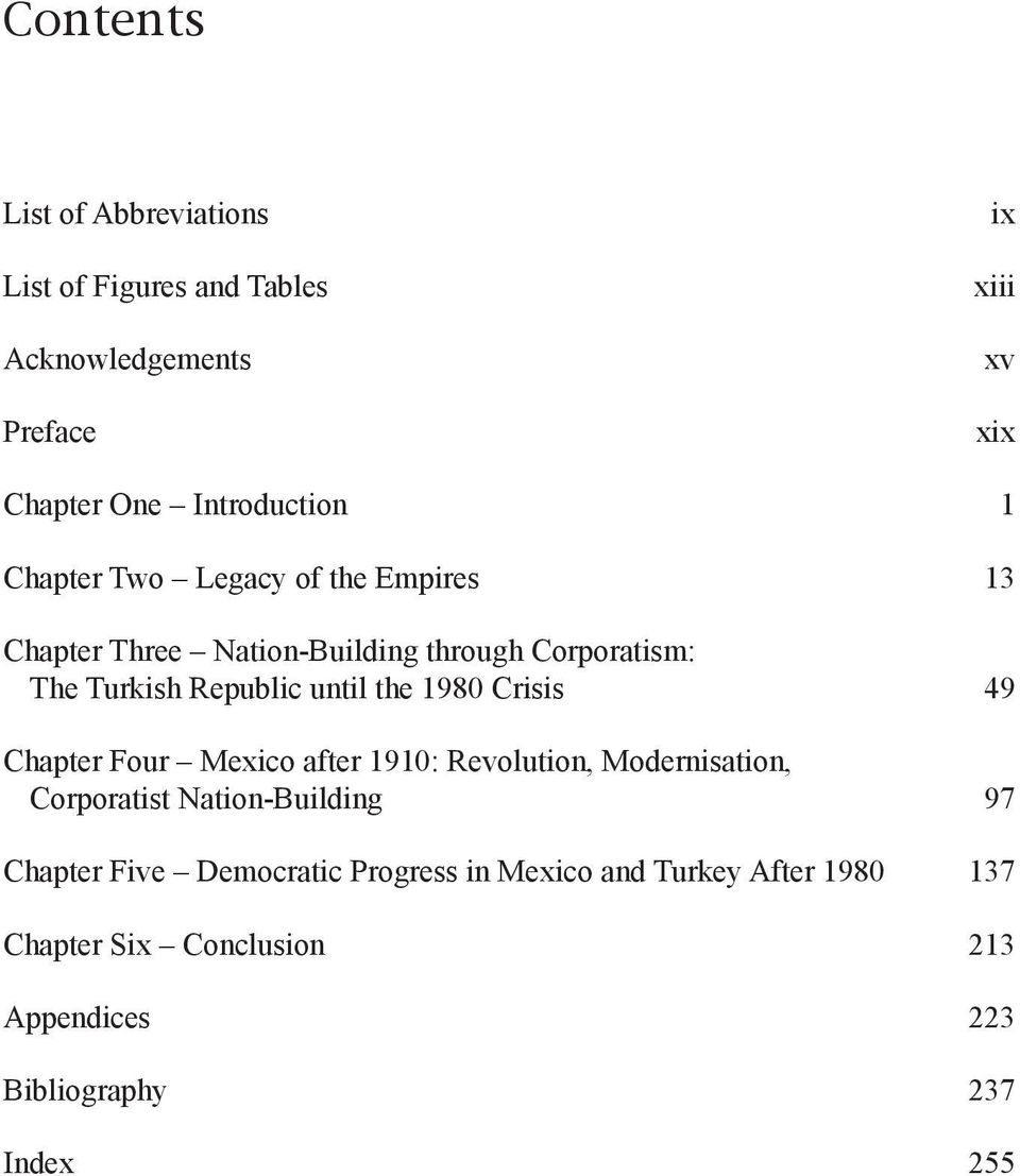 Republic until the 1980 Crisis 49 Chapter Four Mexico after 1910: Revolution, Modernisation, Corporatist Nation-Building