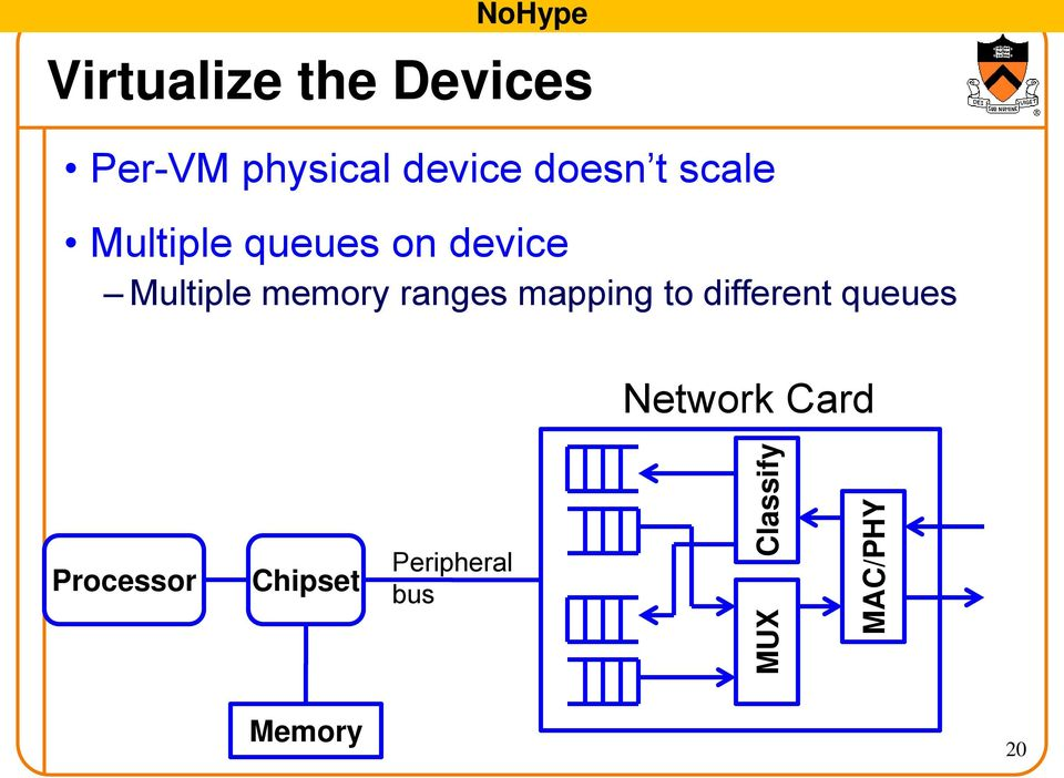 on device Multiple memory ranges mapping to different