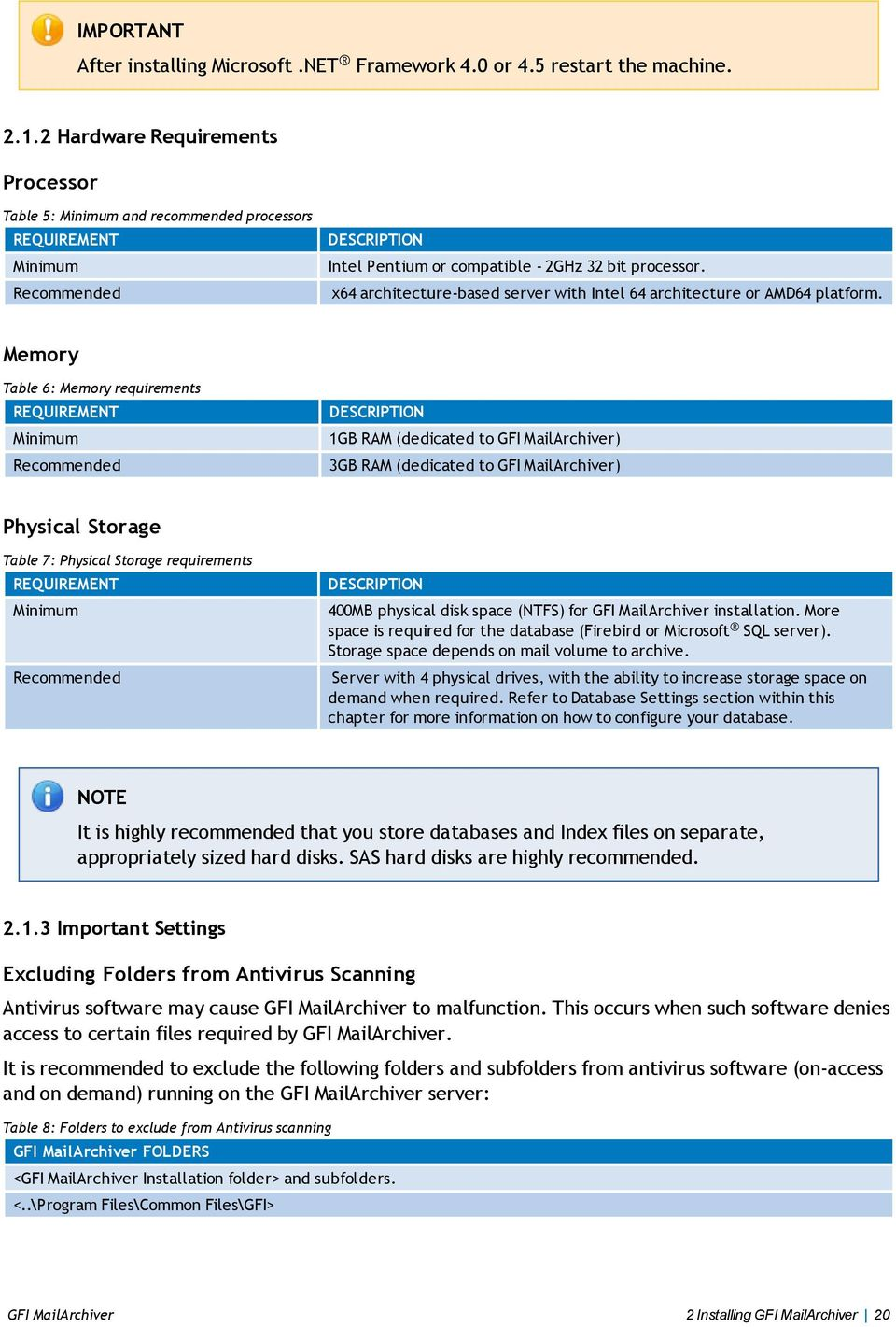 x64 architecture-based server with Intel 64 architecture or AMD64 platform.