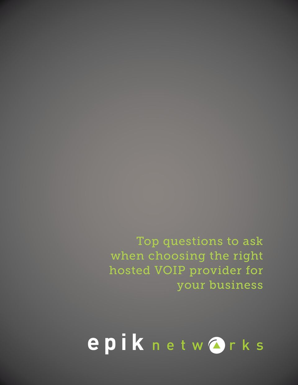 right hosted VOIP