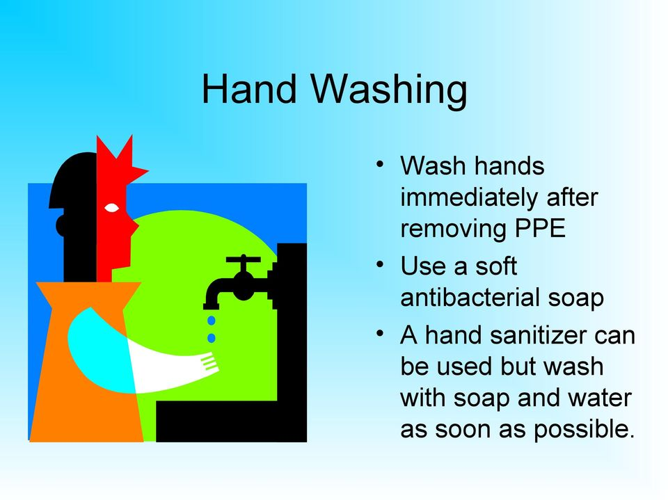 antibacterial soap A hand sanitizer can