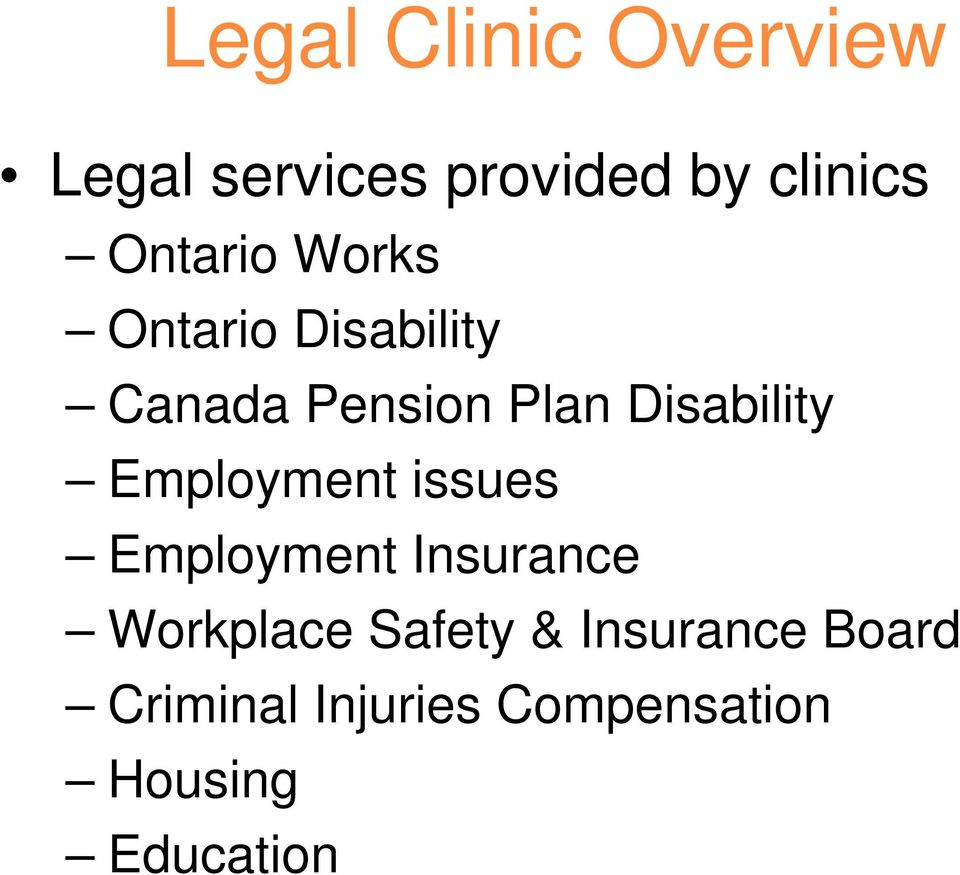Disability Employment issues Employment Insurance Workplace
