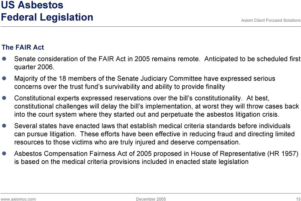 reservations over the bill s constitutionality.