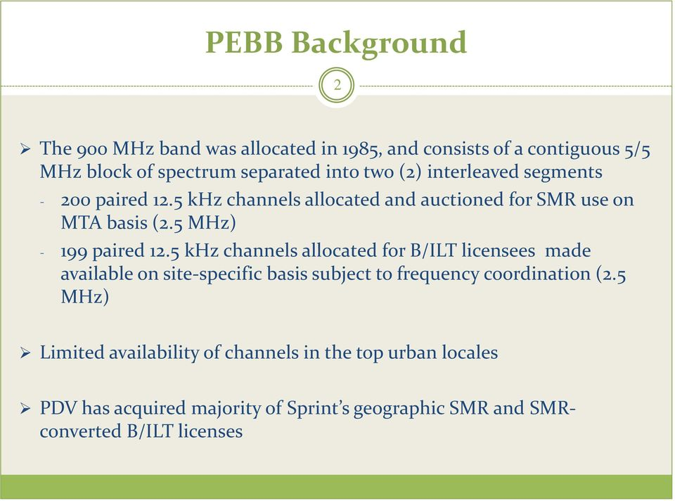5 khz channels allocated for B/ILT licensees made available on site-specific basis subject to frequency coordination (2.