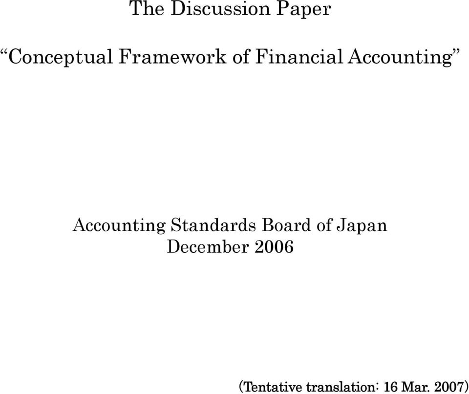 Accounting standard board paper 3
