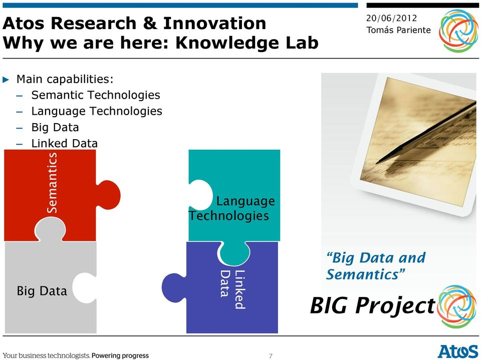 Technologies Big Data Linked Data Semantics Language