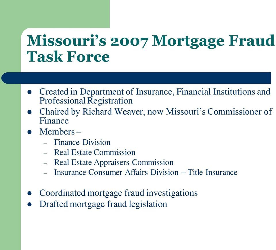 Members Finance Division Real Estate Commission Real Estate Appraisers Commission Insurance Consumer