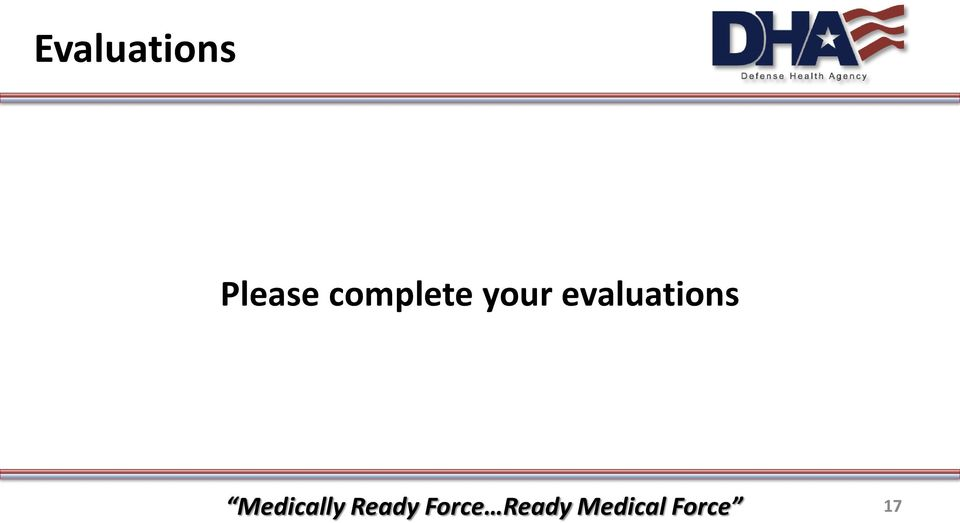evaluations Medically