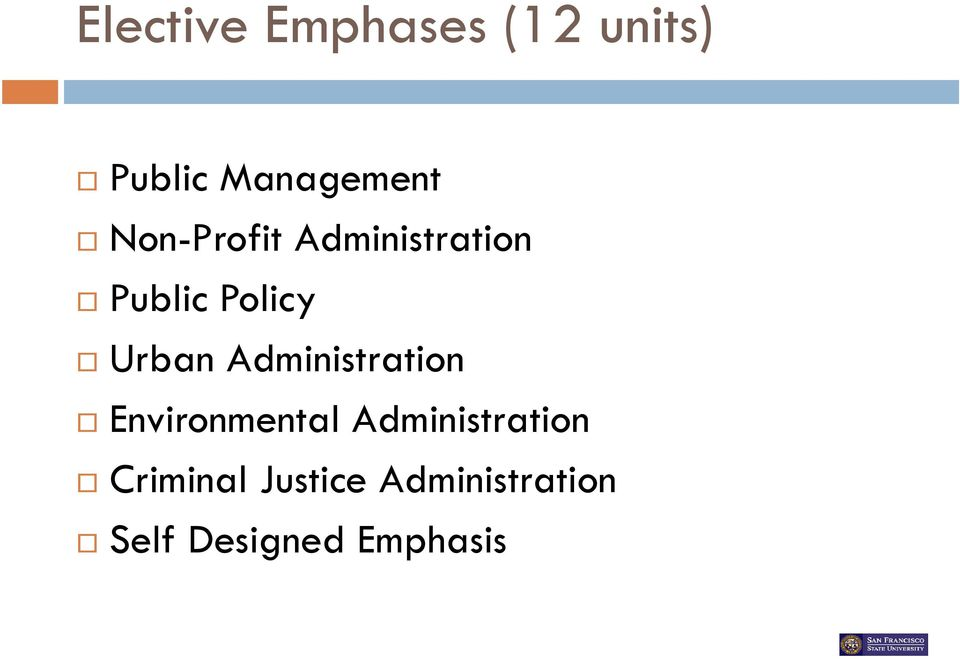 Administration Environmental Administration