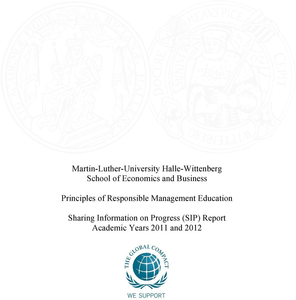 Responsible Management Education Sharing