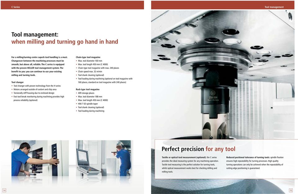 The benefit to you: you can continue to use your existing milling and turning tools.