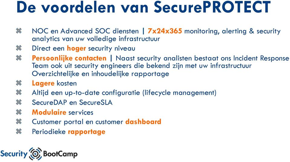 Direct een hoger security niveau!