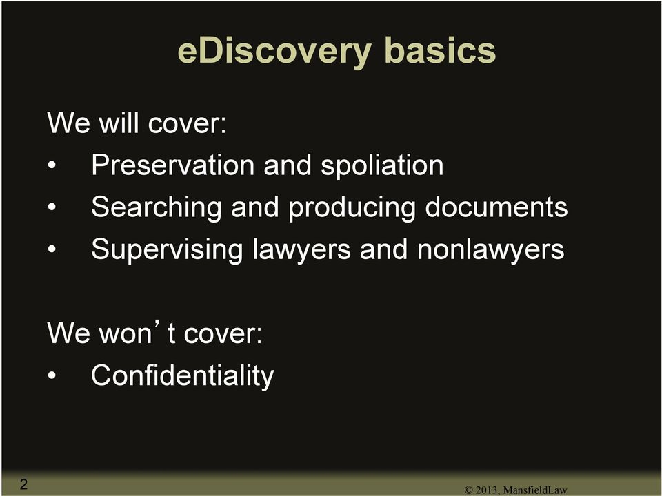 documents Supervising lawyers and nonlawyers