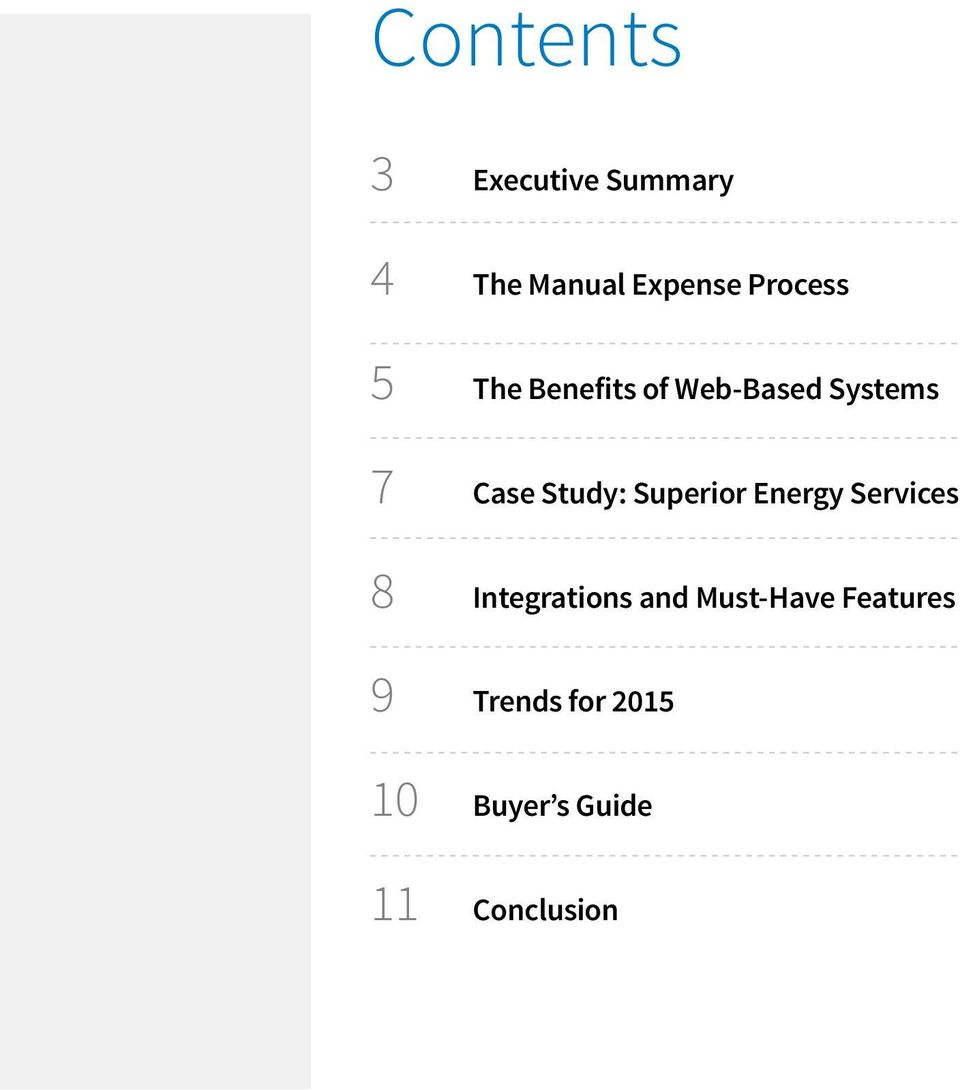 Study: Superior Energy Services 8 Integrations and