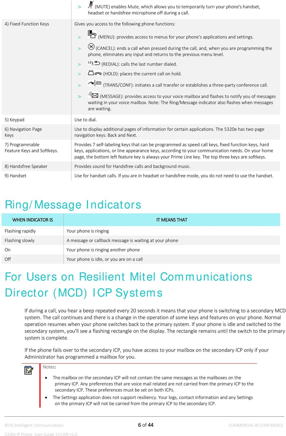 mitel 5320 ip phone manual