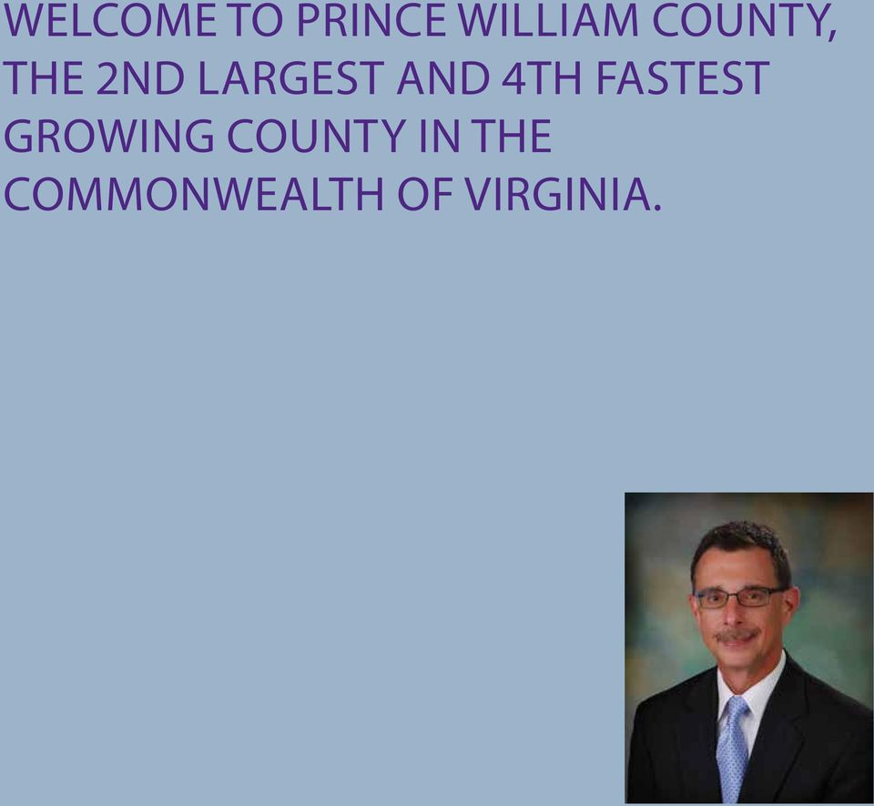 4TH FASTEST GROWING COUNTY