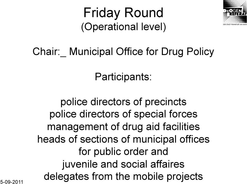 forces management of drug aid facilities heads of sections of municipal