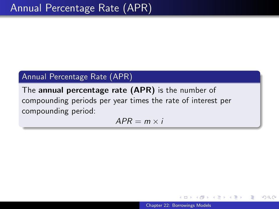 the number of compounding periods per year times