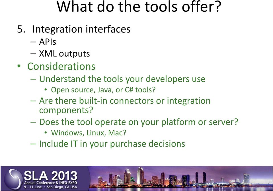 developers use Open source, Java, or C# tools?