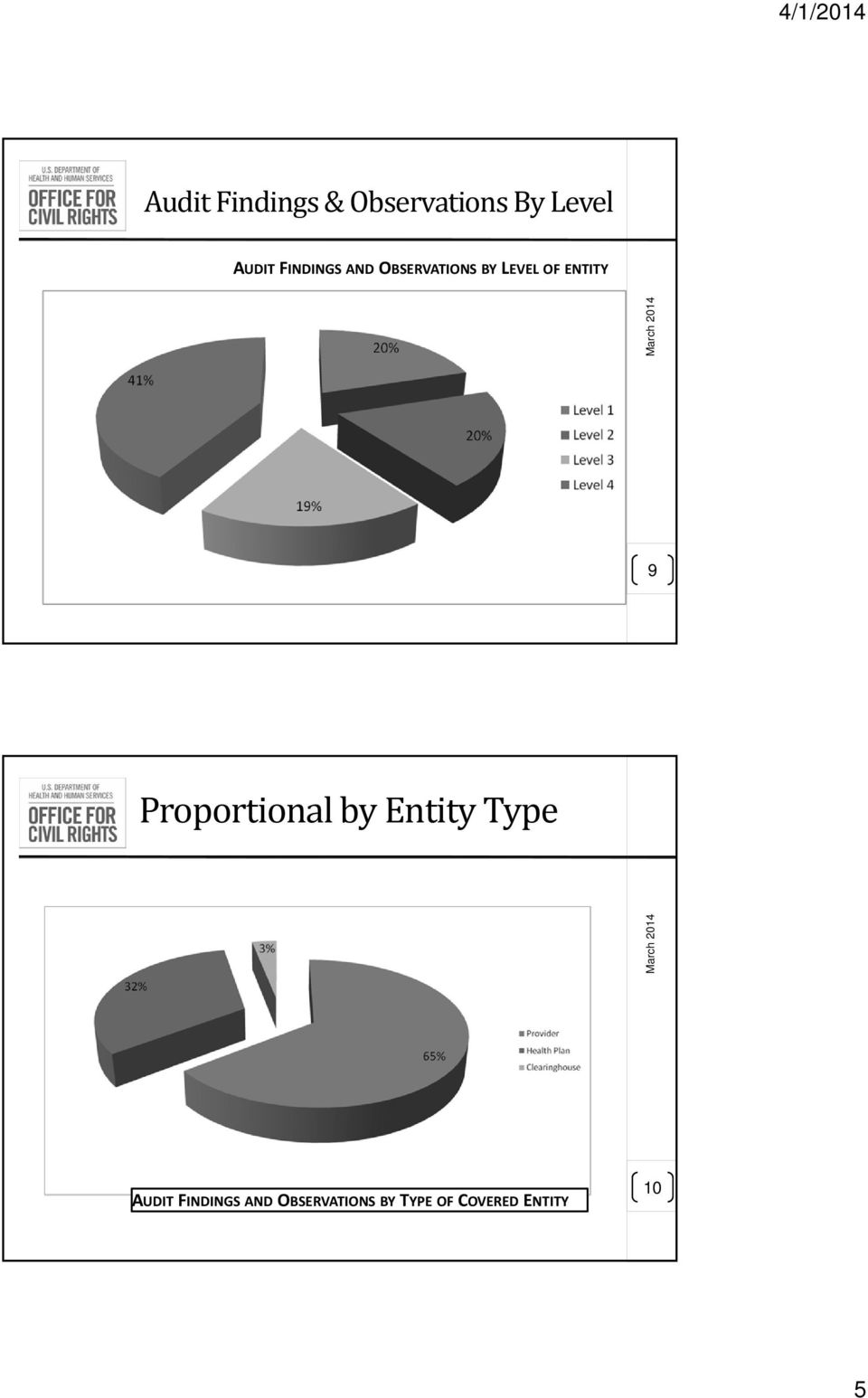 ENTITY 9 Proportional by Entity Type AUDIT