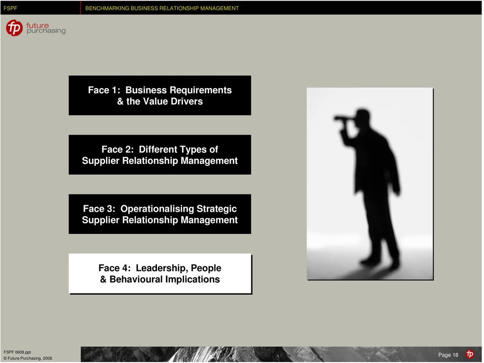 Operationalising Strategic Supplier Relationship Management