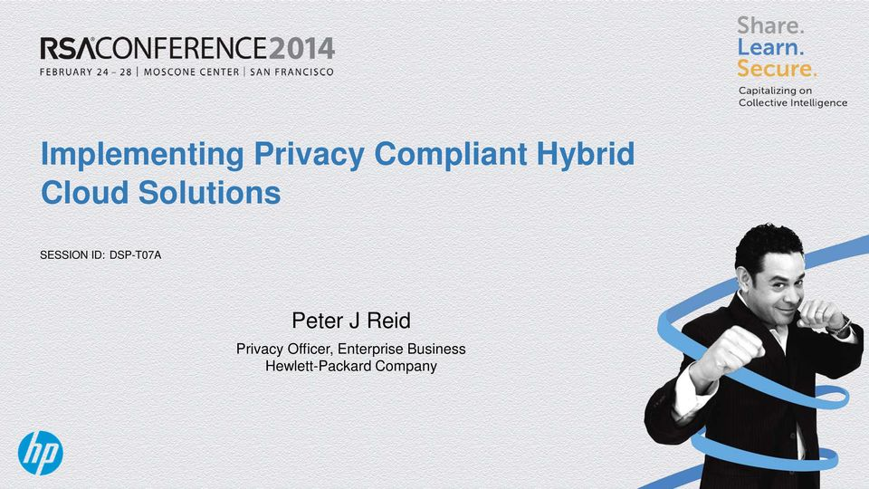 DSP-T07A Peter J Reid Privacy