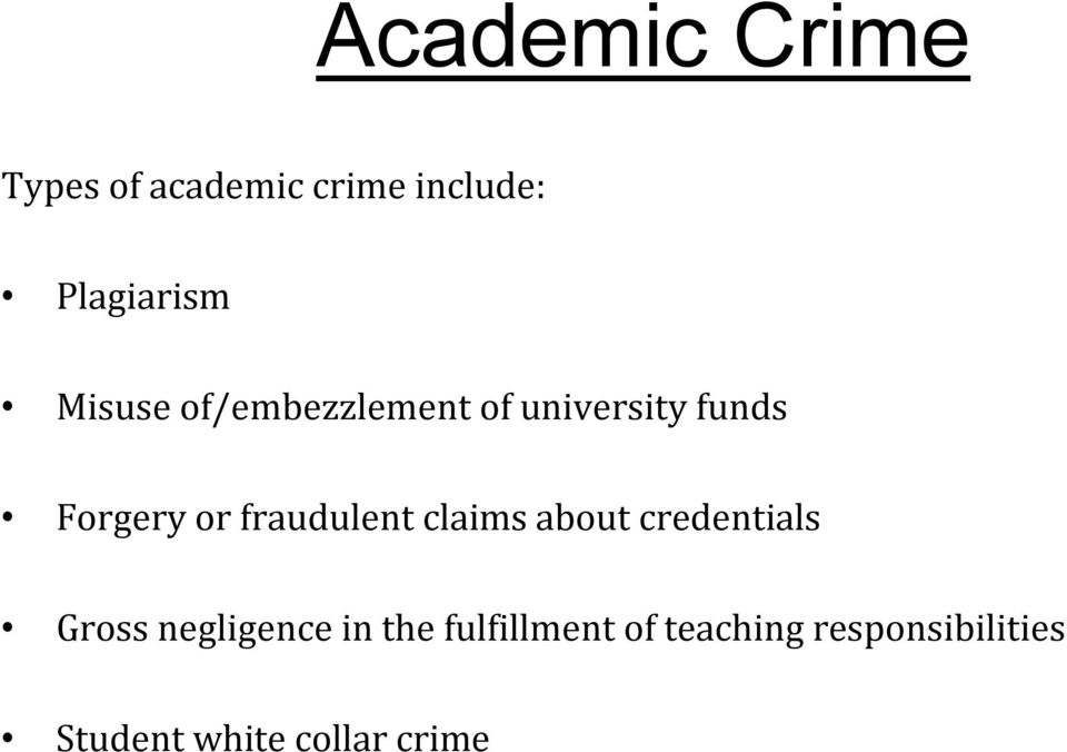 White Collar Crime write papers