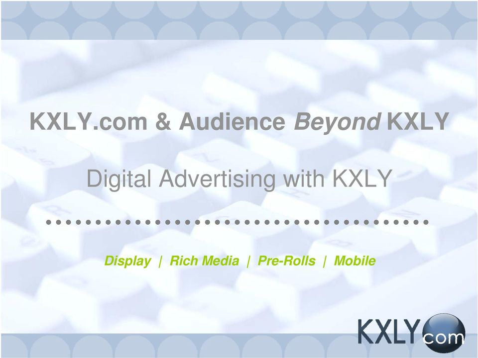 Advertising with KXLY