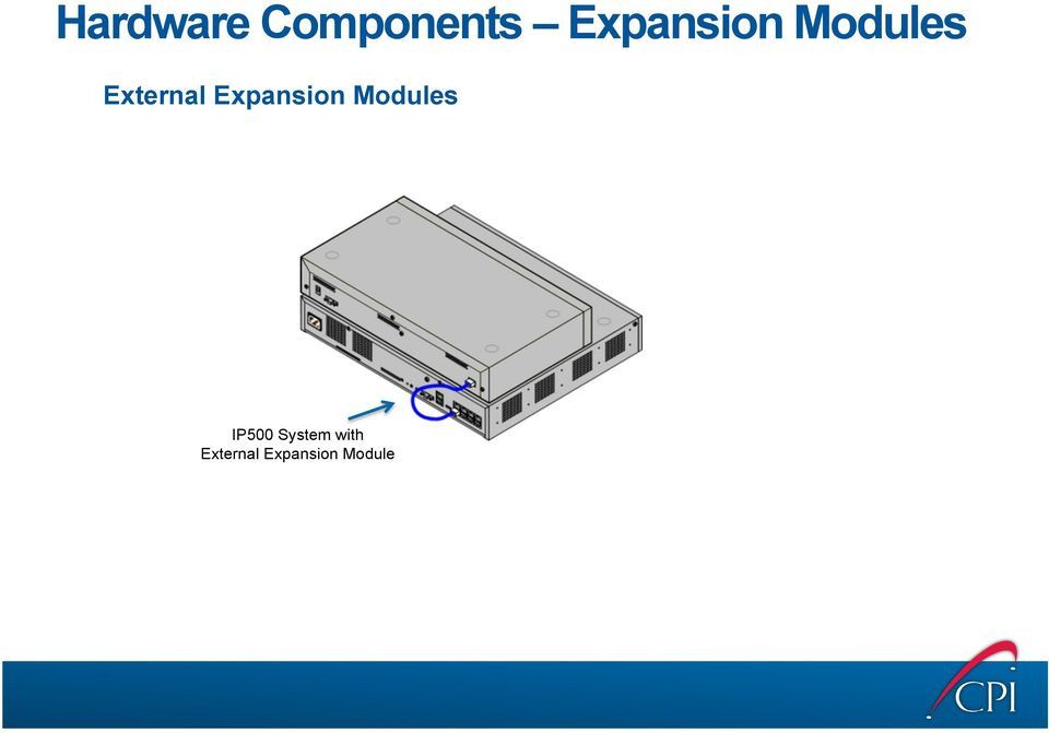 Expansion Modules IP500