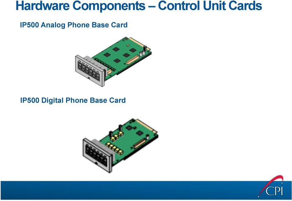 Analog Phone Base Card