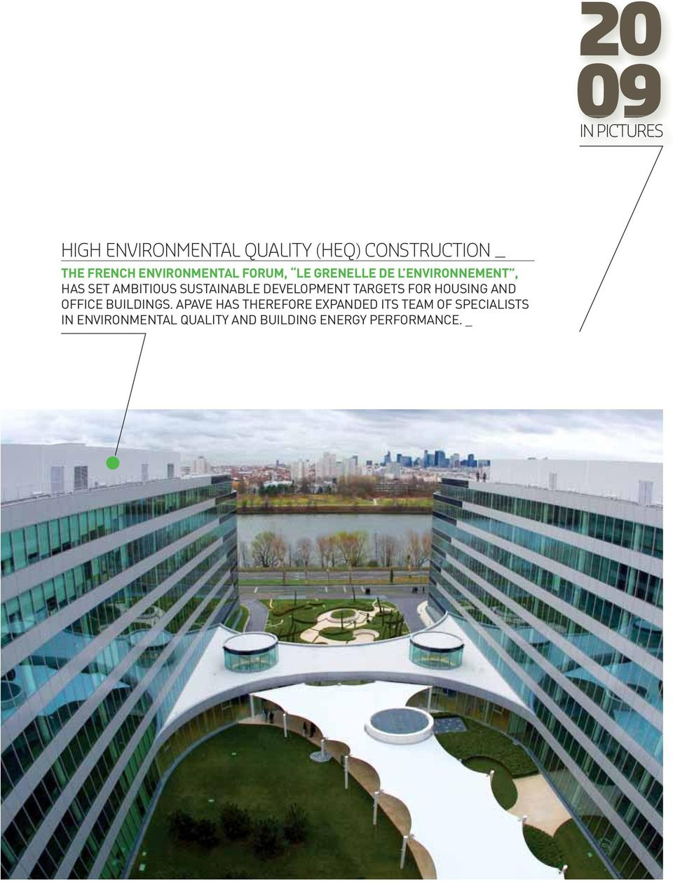 SUSTAINABLE DEVELOPMENT TARGETS FOR HOUSING AND OFFICE BUILDINGS.