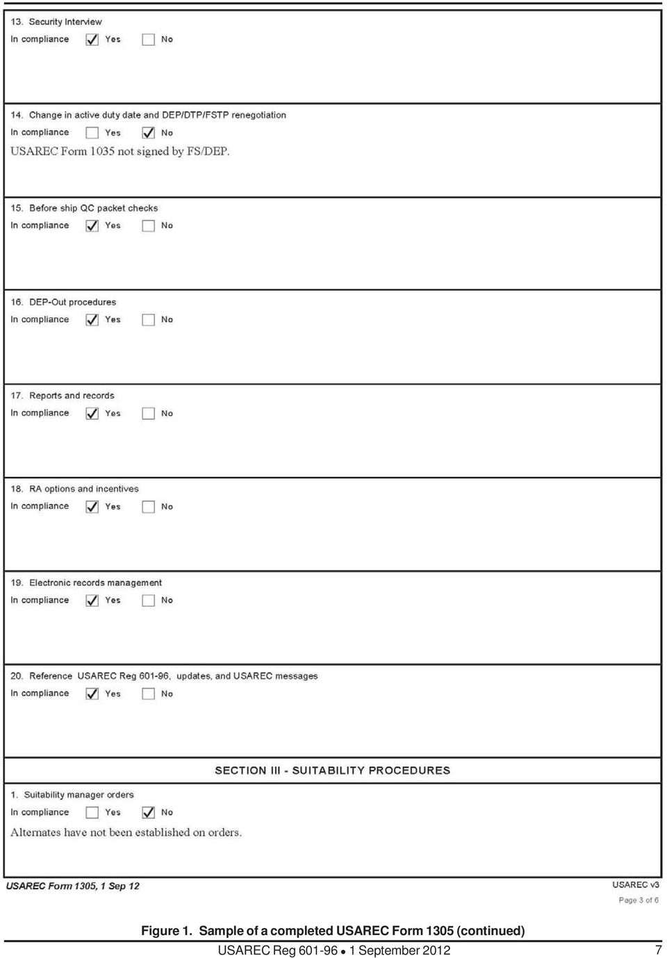 Enlistment accessions and processing procedures pdf usarec form 1305 fandeluxe Image collections