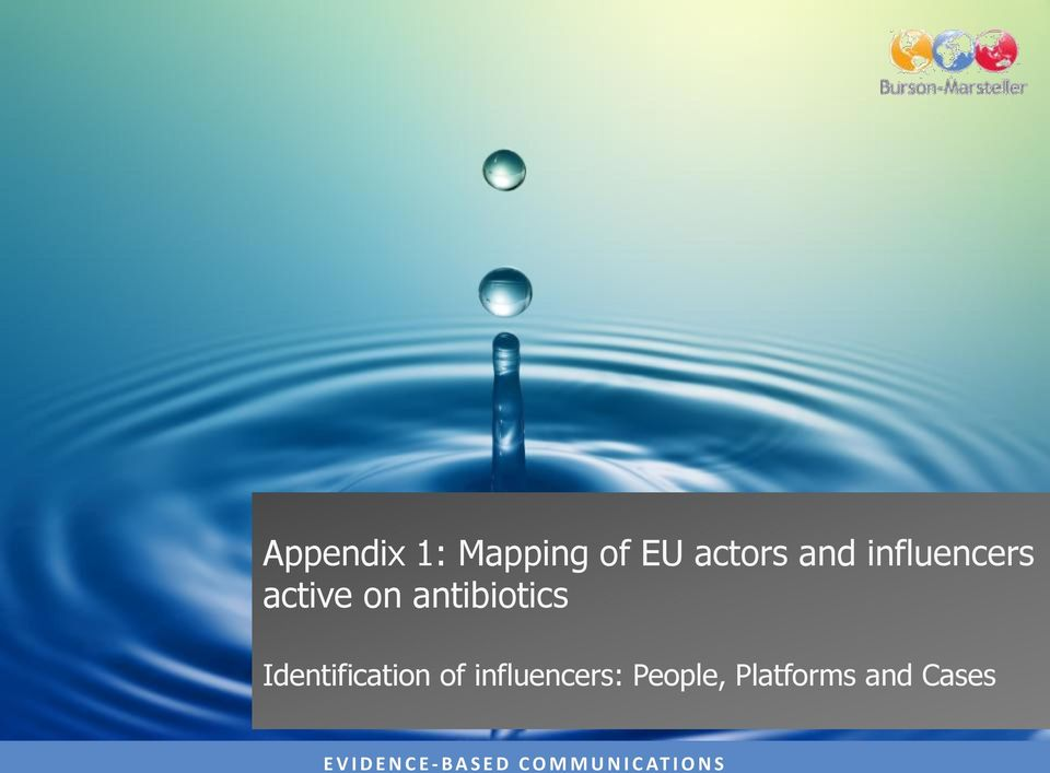 antibiotics Identification of