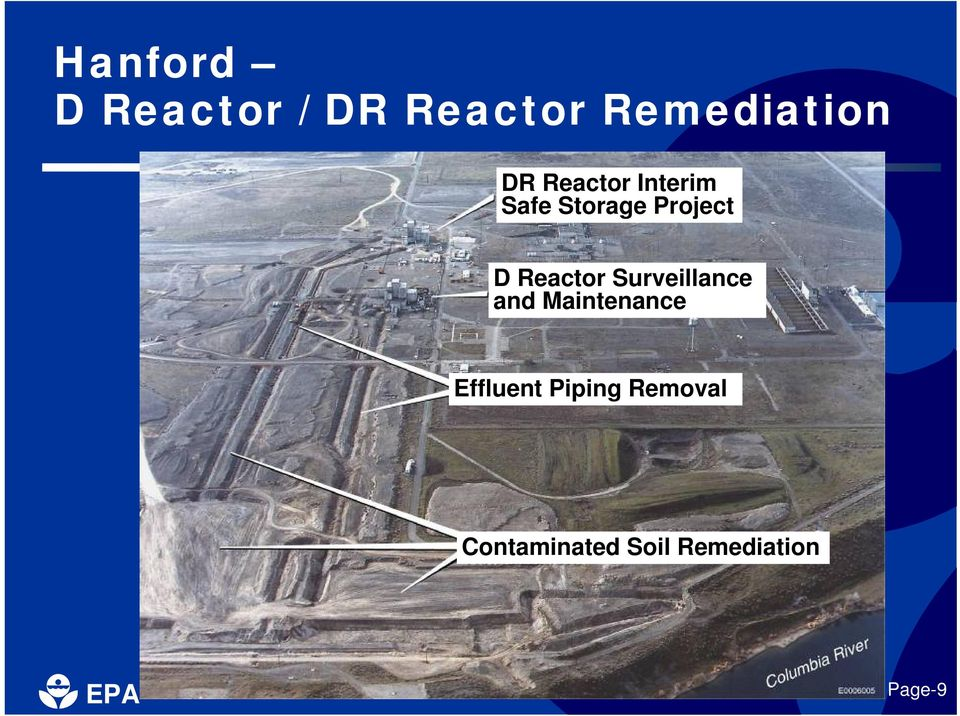 Reactor Surveillance and Maintenance Effluent