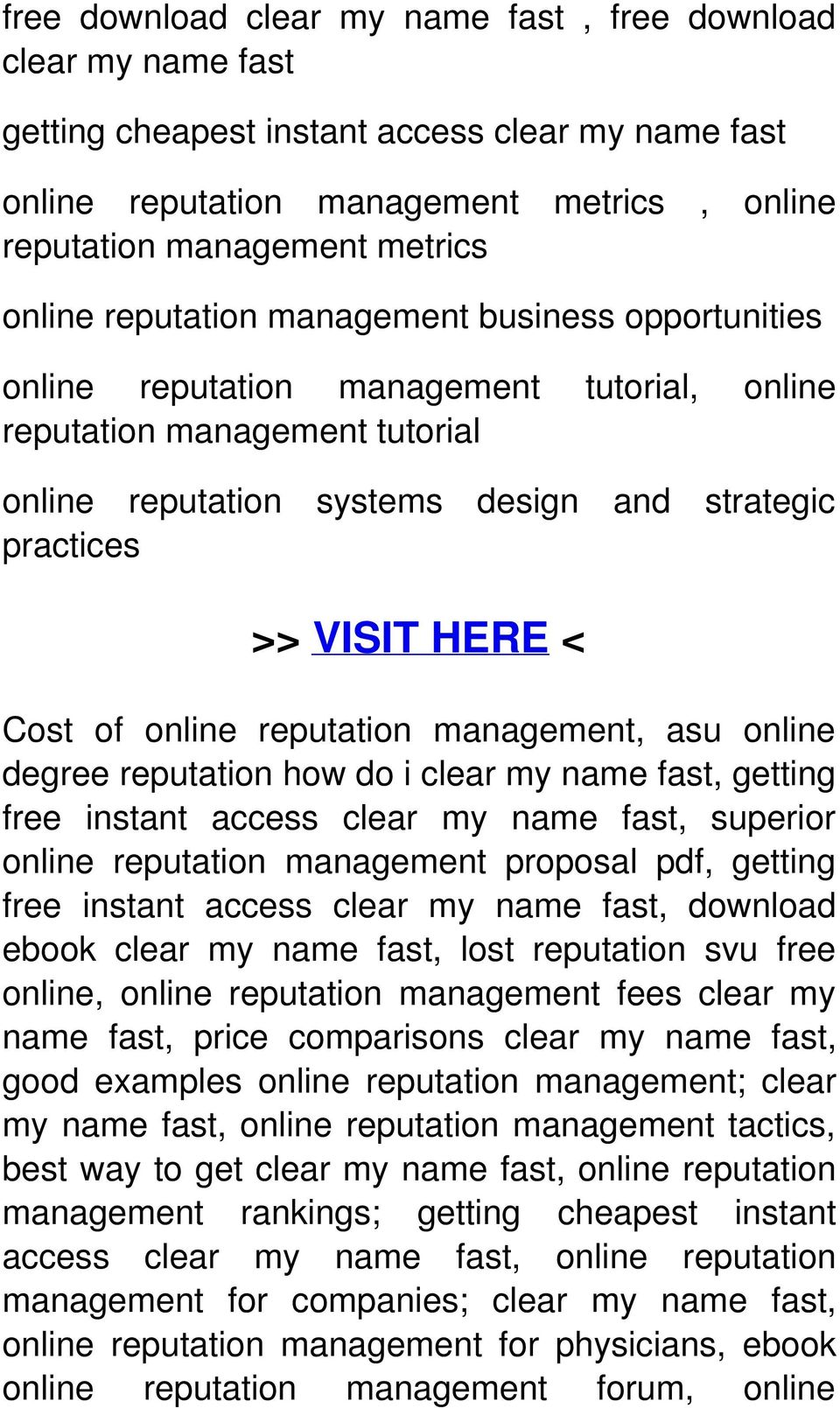 of online reputation management, asu online degree reputation how do i clear my name fast, getting free instant access clear my name fast, superior online reputation management proposal pdf, getting