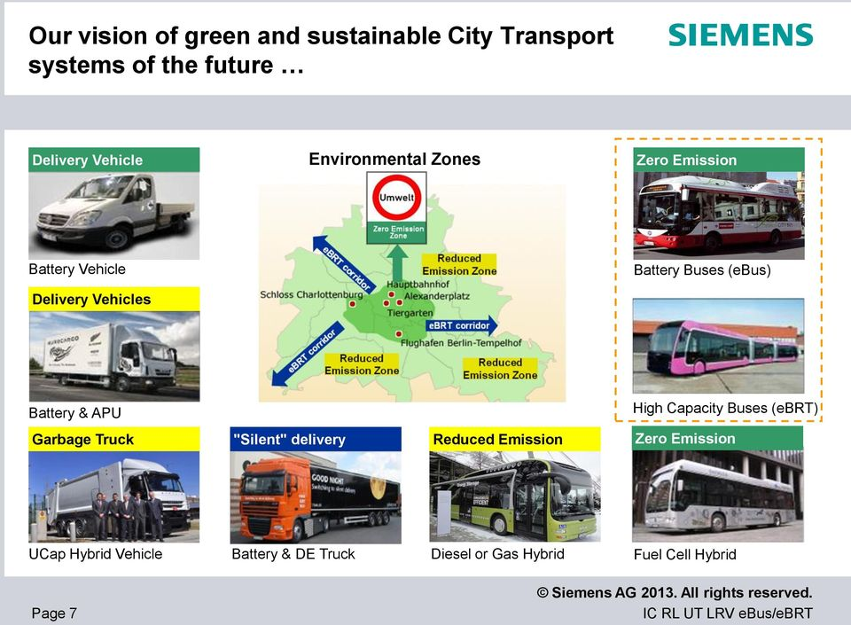 "Battery & APU High Capacity Buses (ebrt) Garbage Garbage Truck Truck ""Silent"" delivery Reduced"