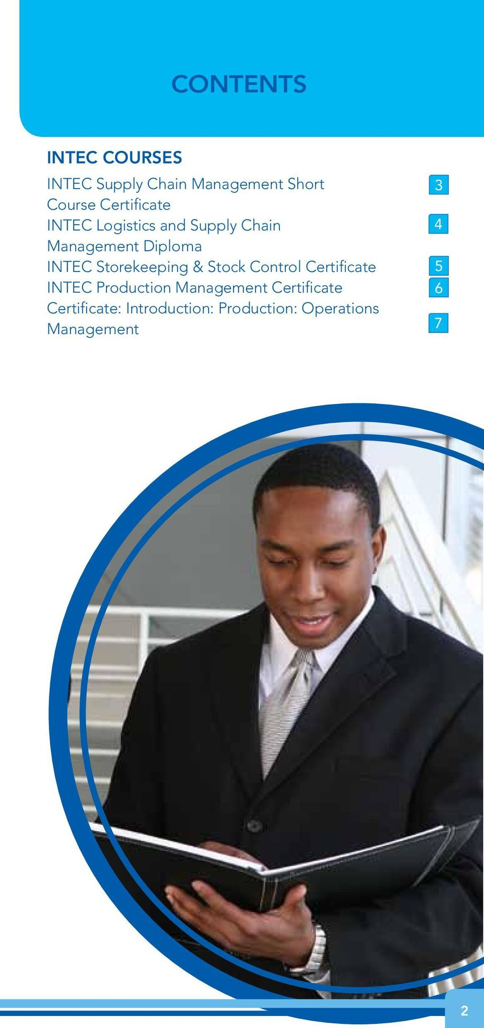 Storekeeping & Stock Control Certificate INTEC Production Management