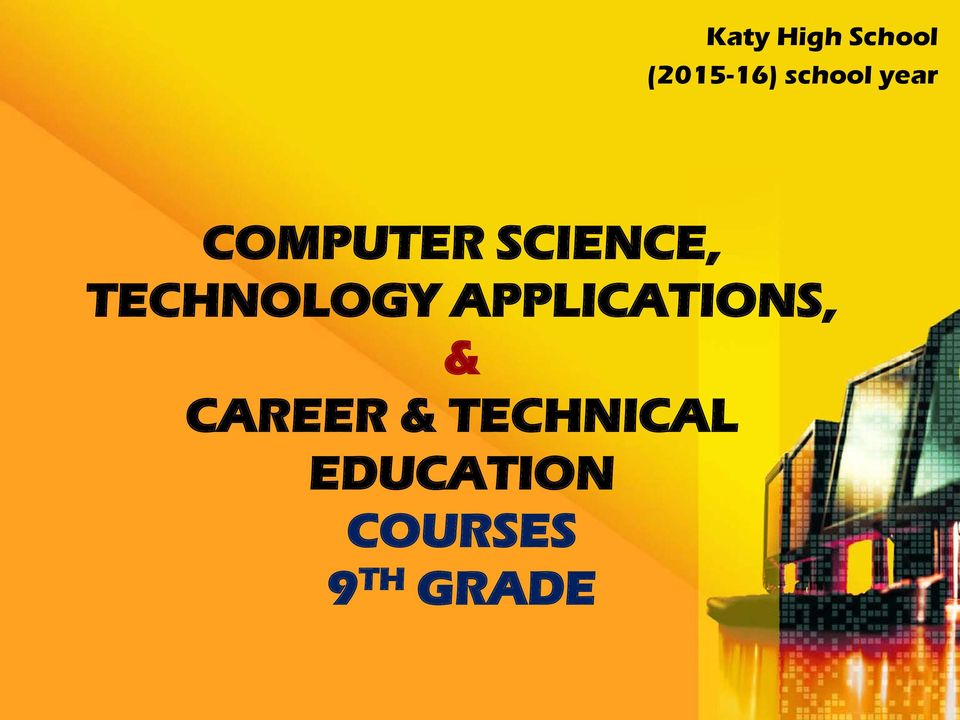 TECHNOLOGY APPLICATIONS, &