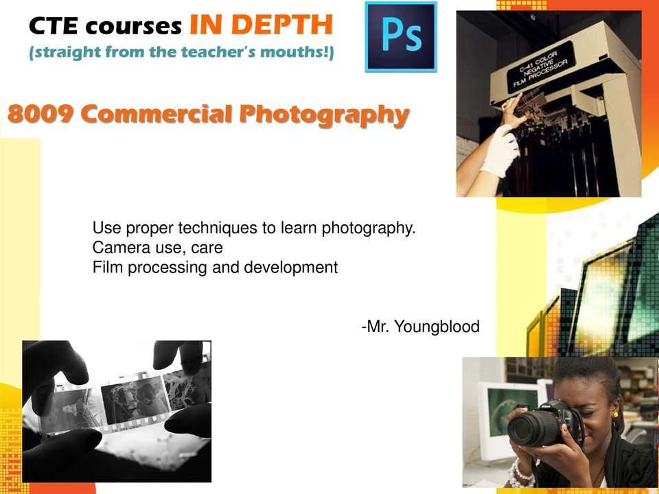 learn photography.