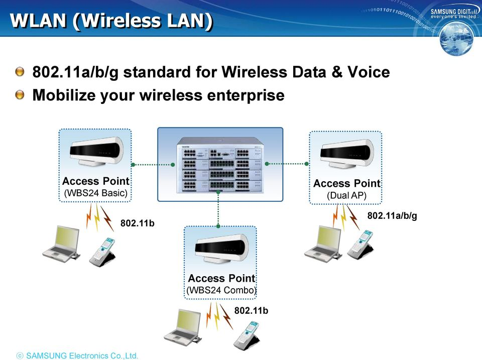 wireless enterprise Access Point (WBS24 Basic) 802.