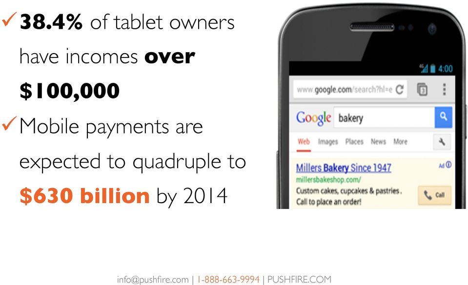 Mobile payments are expected