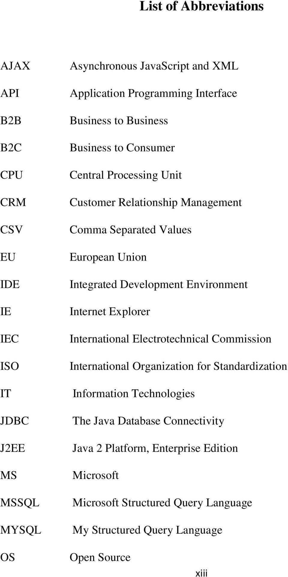 Integrated Development Environment Internet Explorer International Electrotechnical Commission International Organization for Standardization Information