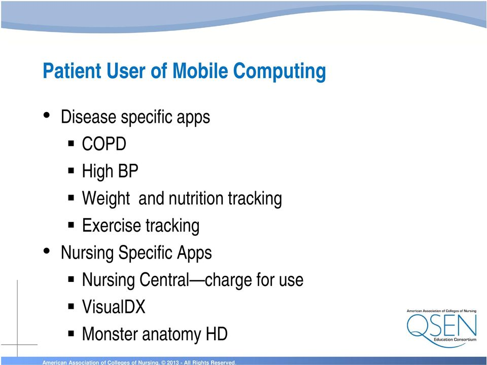 tracking Exercise tracking Nursing Specific Apps