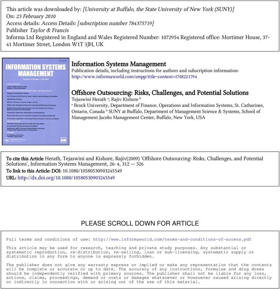 Publication details, including instructions for authors and subscription information: http://www.informaworld.