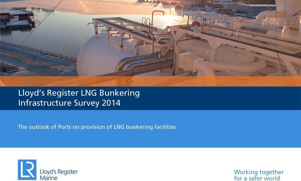 of Ports on provision of LNG bunkering