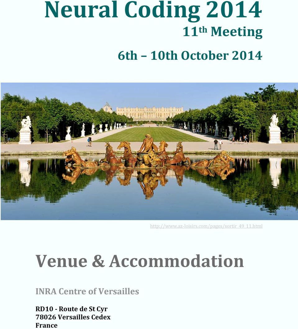 html Venue & Accommodation INRA Centre of