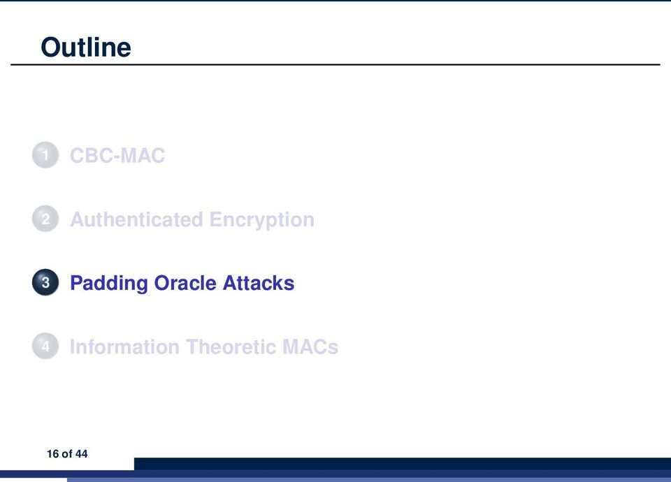 Padding Oracle Attacks 4