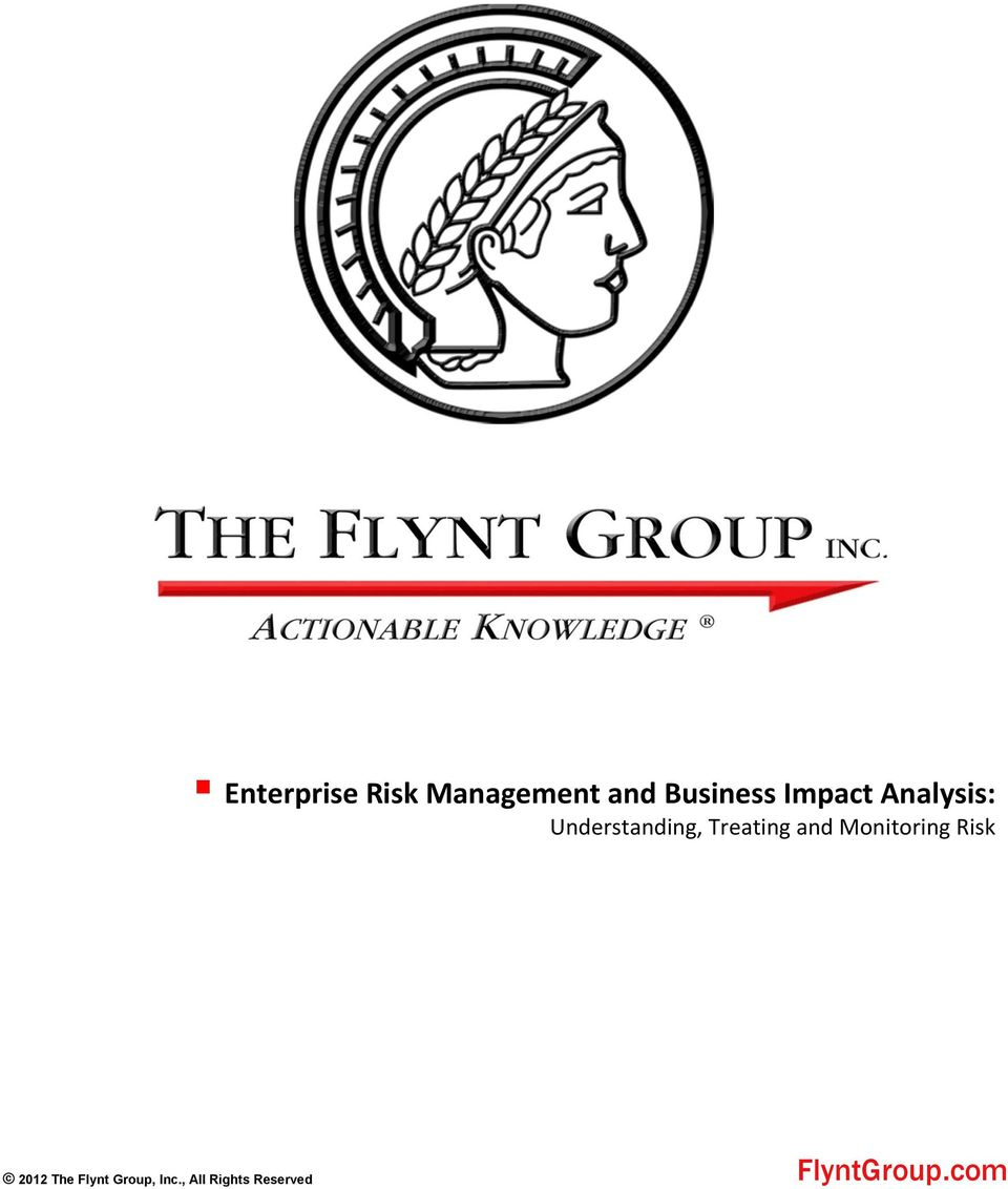 and Monitoring Risk 2012 The Flynt
