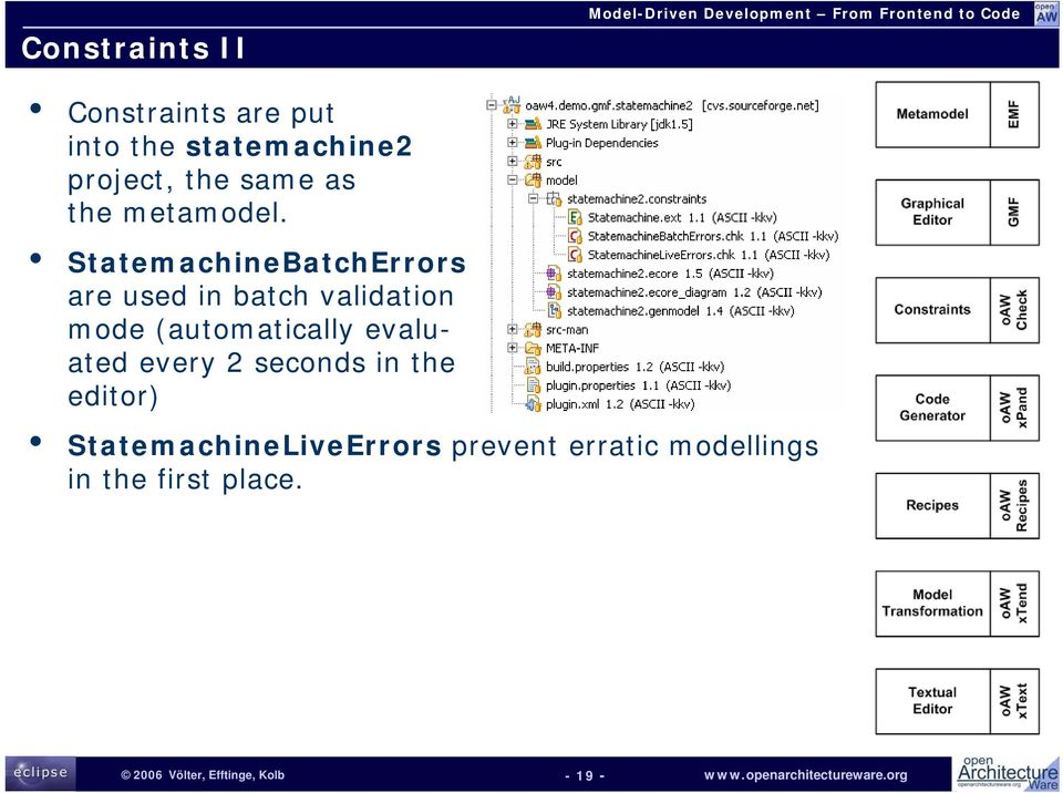 StatemachineBatchErrors are used in batch validation mode